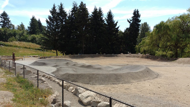 Inter River Bike Park, N  Vancouver, BC - Phase 1 Revamp